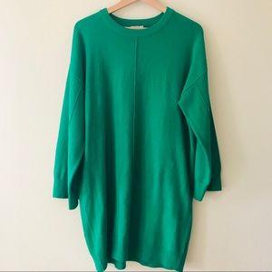 Asos Oversized Long Sleeve Sweater Dress
